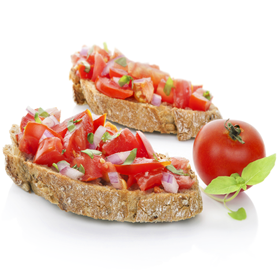 Chopped Tomato Bread